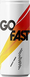 Go Fast   Authentic Can